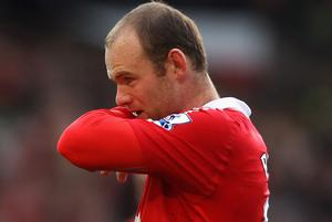 Wayne Rooney cut a sombre figure for Manchester United this season. Photo: Getty Images