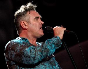 INDIO, CA - APRIL 17:  Singer Morrissey performs during day one of the Coachella Valley Music & Arts Festival 2009 held at the Empire Polo Club on April 17, 2009 in Indio, California.  (Photo by Kevin Winter/Getty Images)