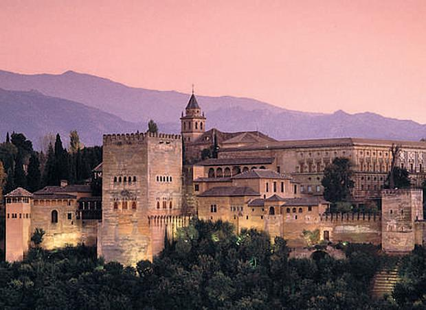 ALL LANDS ON DECK: You can visit the Alhambra, above, while on a Spirit of Adventure cruise