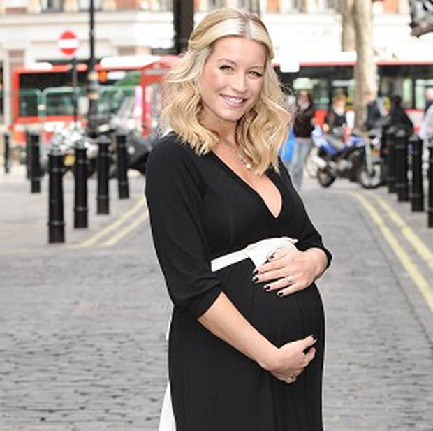Denise Van Outen has given birth to a daughter named Betsy