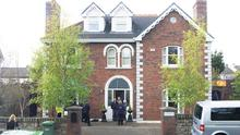 The exterior of the Kellys' home in Killiney, Co Dublin, which is one of five luxury houses in an exclusive gated community