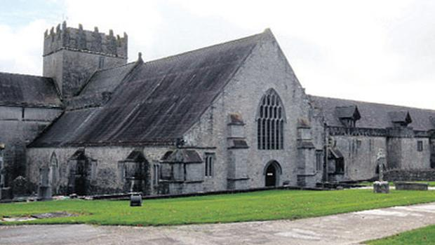 Holycross Abbey in Thurles, Co Tipperary