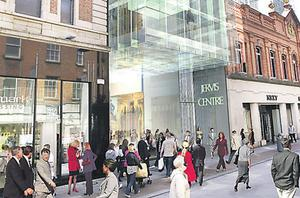 The former Jervis St Hospital site was developed into a shopping complex by Paddy McKillen