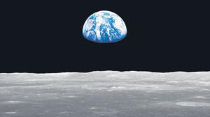 The 'Earthrise' picture taken by NASA astronauts in 1968 has become an iconic image for environmentalists worldwide.