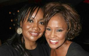 Patricia Houston (left) with her sister Whitney on February 9, 2012, while attending an event in Los Angeles (Rex features)