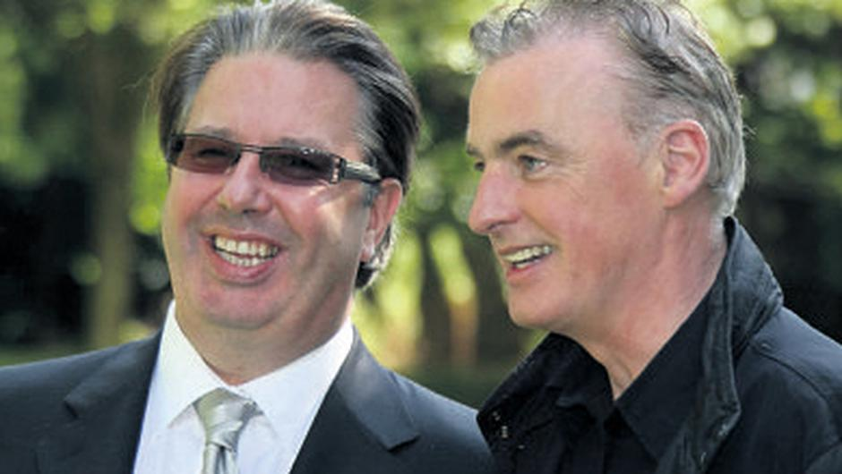 Gerry Ryan and Dave Fanning worked together in a pirate radio station before joining RTE
