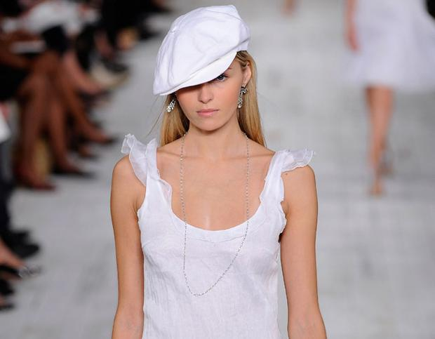 Berets featured stronly in Ralph Lauren's Spring/Summer 2010 show. Photo: Getty Images