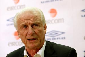 """""""This is just media speculation, I am totally committed to Ireland,"""" Giovanni Trapattoni said. Photo: Getty Images"""
