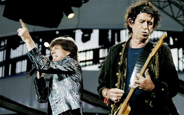 Rolling Stones 'A Bigger Bang' Tour concert in the Valle Hovin Stadium, Oslo, Norway - 08 Aug 2007...Mandatory Credit: Photo by Torbjorn Gronning / Rex Features ( 682812e ) Mick Jagger and Keith Richards Rolling Stones 'A Bigger Bang' Tour concert in the Valle Hovin Stadium, Oslo, Norway - 08 Aug 2007
