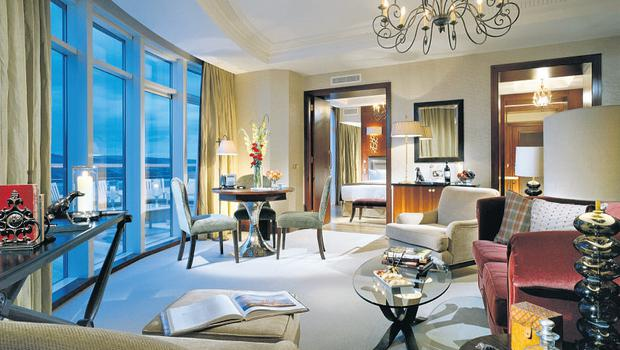 A luxurious suite at Fota Isand Resort