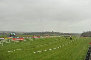 A general view of the raceourse this morning. Photo: Sportsfile