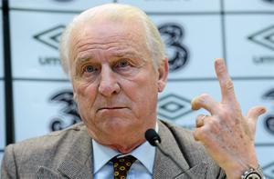 Giovanni Trapattoni during a squad announcement ahead of their Friendly International against Greece. Photo: Sportsfile
