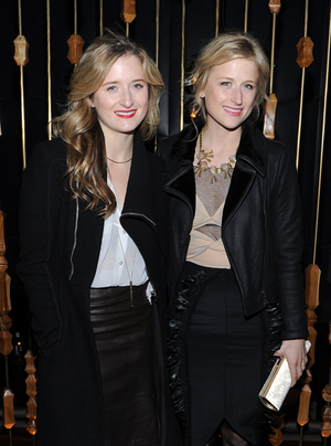 Grace Gummer and Mammie Gummer attend the 'The Iron Lady' New York premiere after party at The Royalton Hotel on December 13, 2011 in New York City.