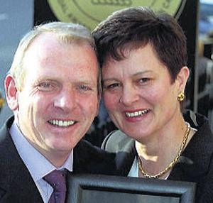 William and Sheila Moran: in dispute with AIB