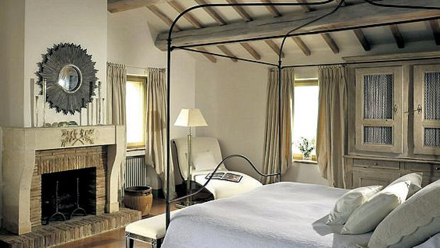 The master bedroom at San Paolo