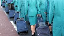 Aer Lingus claimed it cannot hire in enough cabin crew to replace staff it has suspended for refusing to work new rosters. Photo: Collins