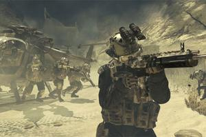 Modern Warfare 2 pulling over $401m of sales on its release date in November 2009. Photo: Activision