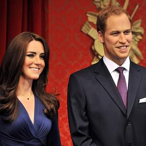 New wax figures of the Duke and Duchess of Cambridge go on display at Madame Tussauds in London