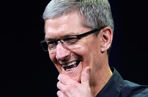 Apple chief executive Tim Cook. Photo: Getty Images