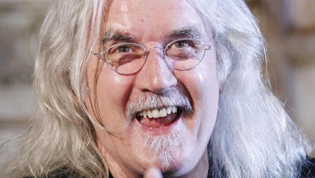 Billy Connolly, who has been named the UK's most influential stand-up comic of all time. Photo: PA