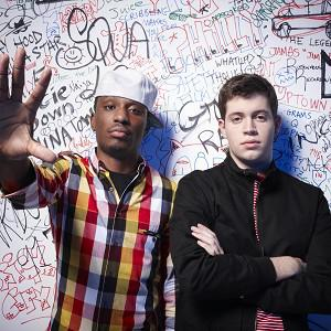 Chiddy Bang are supporting Professor Green on tour