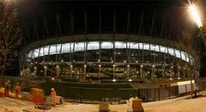 The National Stadium in Warsaw which will play host to Euro 2012