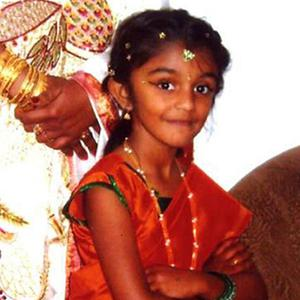 Thusha Kamaleswaran has been asking if she will be able to walk in time for her seventh birthday. Photo: PA