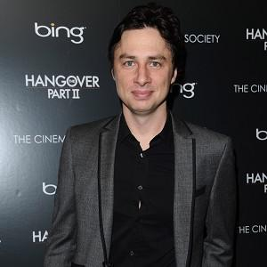 Zach Braff is best known for his role in hit TV comedy Scrubs