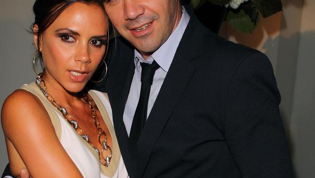Victoria Beckham and Roland Mouret. Photo: Getty Images