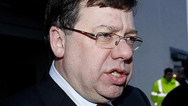 Outgoing Taoiseach Brian Cowen said he accepted responsibilty for decisions taken in government