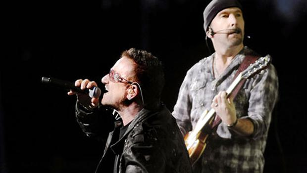 U2 were forced to pull out of last year's music festival. Photo: PA