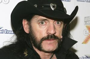 Lemmy swaps the Jack Daniel's for beer in the advert for Kronenbourg, which will air this weekend. Photo: Getty Images