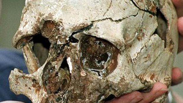 The skeleton of 'Cheddar Man' was found at the same site in 1903
