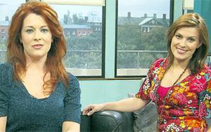 DOWNTURN: Afternoon Show presenters, Blathnaid Ni Chofaigh and Sheana Keane, are said to have fallen out