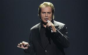 United Kingdom's Engelbert Humperdinck performs during the final show of the 2012 Eurovision Song Contest  Photo: AP