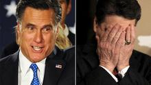 Winners and losers: Mitt Romney and Rick Perry
