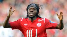 Gunning for glory: Gervinho set to seal move to Arsenal from Lille. Photo: Getty Images