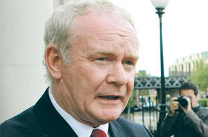 Martin McGuinness: Deserves recognition for war and peace