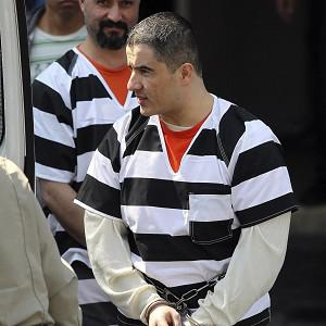 Jorge Vazquez Sanchez is led out of the federal courthouse in San Antonio (AP/San Antonio Express-News, Tom Reel)