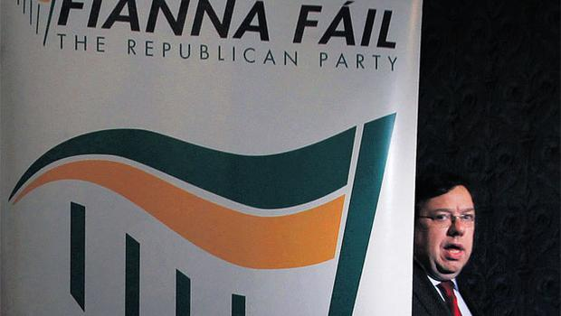 PARTY OVER: Brian Cowen has finally admitted defeat and stepped down as leader of Fianna Fail, but it remains to be seen if the public will forgive him for the legacy he has left behind. Photo: David Conachy