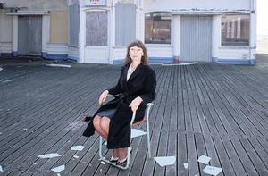 END OF THE PIER: Author Beryl Bainbridge, who died last year aged 75, was obsessed with completing the novel — and the novel aches for completion. Photo: Rex Features