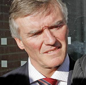 Former junior minister Ivor Callely was fined for driving an untaxed car