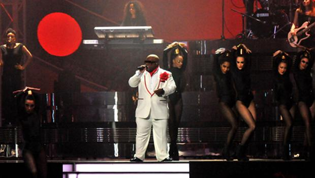 Cee Lo Green performs live on stage. Photo: Getty Images