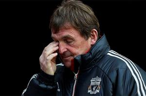 Sacked: Liverpool manager Kenny Dalglish