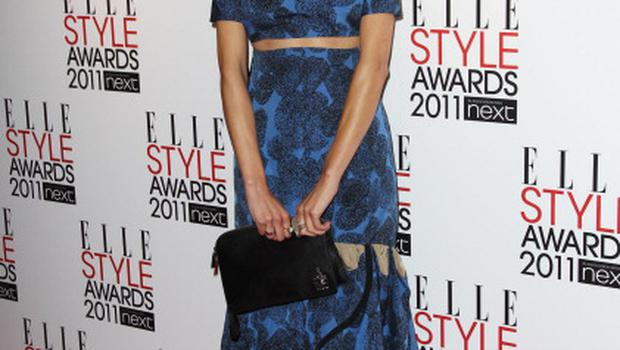 LONDON, ENGLAND - FEBRUARY 14:  (UK TABLOID NEWSPAPERS OUT) Alexa Chung arrives at the ELLE Style Awards 2011 held at The Grand Connaught Rooms on February 14, 2011 in London, England.  (Photo by Dave Hogan/Getty Images)
