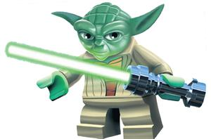 Lego lifted profit to ^€560m for 2011, helped by sales of building-block sets based on 'Star Wars' characters like Yoda