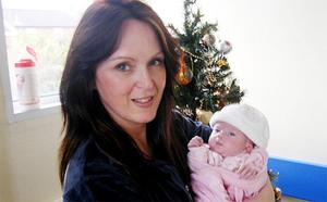 Paula Stevenson with her daughter, Hayley, who died in hospital after doctors apparently ignored her mother's pleas for help. Photo: PA