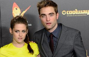 Kristen and Robert at the Twilight premiere.