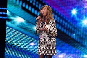 Molly Rainford performs on Britain's Got Talent