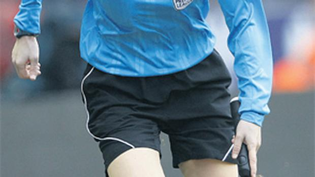 Sian Massey, the match official at the centre of the Sky controversy